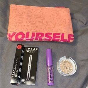 4 piece makeup bundle tarte, OFRA, Lorac NWT